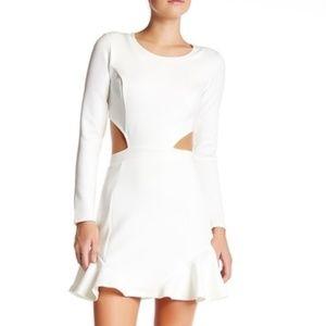 Lovers + FRIENDS White cutout dress